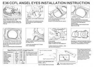 Упътване за поставяне на ccfl angel eyes
